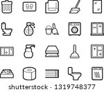 bold stroke vector icon set  ... | Shutterstock .eps vector #1319748377
