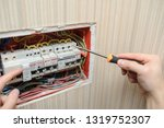 lateral view of a a hand of an...   Shutterstock . vector #1319752307