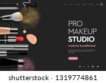 web page design template for... | Shutterstock .eps vector #1319774861