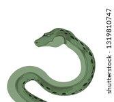 snake python boa serpent... | Shutterstock .eps vector #1319810747