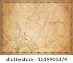 old nautical hidden treasure... | Shutterstock . vector #1319901374