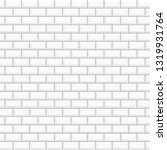 white glossy ceramic tiles.... | Shutterstock .eps vector #1319931764
