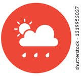 clouds vector icon which can... | Shutterstock .eps vector #1319953037