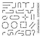 arrows. vector illustration...   Shutterstock .eps vector #1319953604