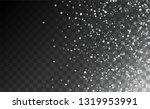 winter snowfall background....   Shutterstock .eps vector #1319953991