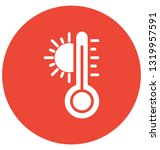 celsius vector icon which can... | Shutterstock .eps vector #1319957591
