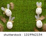 easter decoration for home ... | Shutterstock . vector #1319962154