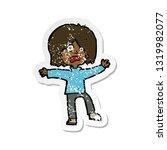 retro distressed sticker of a...   Shutterstock .eps vector #1319982077