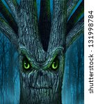 Haunted Tree With A Mythical...