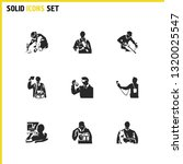 people icons set with...   Shutterstock .eps vector #1320025547