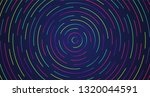 colorful neon dashed lines ... | Shutterstock .eps vector #1320044591