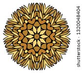 oriental mandala. vintage... | Shutterstock .eps vector #1320048404