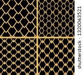 black seamless geometric...   Shutterstock .eps vector #1320063521