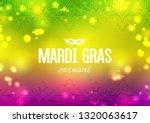 mardi gras carnival background...   Shutterstock .eps vector #1320063617