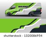 car decal company wrap design...   Shutterstock .eps vector #1320086954