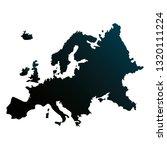 europen union map | Shutterstock .eps vector #1320111224