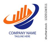 financial and accounting logo ... | Shutterstock .eps vector #1320136511