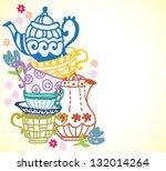 Tea Party Free Vector Art 7539 Free Downloads