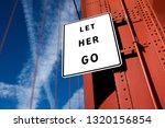 let her go motivational message ... | Shutterstock . vector #1320156854