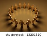 people have surrounded | Shutterstock . vector #13201810