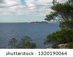 the coast of ibiza one day with ... | Shutterstock . vector #1320190064