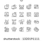 webmaster's day well crafted... | Shutterstock .eps vector #1320191111