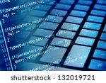 program code and computer... | Shutterstock . vector #132019721