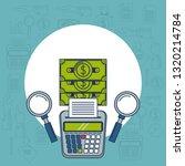 tax day finance card | Shutterstock .eps vector #1320214784
