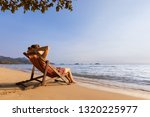 woman enjoying vacation... | Shutterstock . vector #1320225977