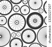 bicycle wheel seamless pattern. ... | Shutterstock .eps vector #1320227207