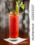 Bloody Mary Cocktail Isolated...