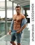 man. model. male. sexy ... | Shutterstock . vector #1320264404