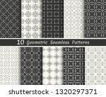 set of seamless geometric... | Shutterstock .eps vector #1320297371