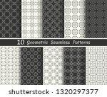set of seamless geometric... | Shutterstock .eps vector #1320297377
