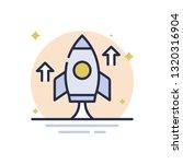 start up business vector icon | Shutterstock .eps vector #1320316904