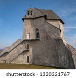 chapel of the holy trinity in... | Shutterstock . vector #1320321767