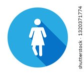 standing silhouette woman icon...