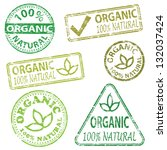 organic and natural food.... | Shutterstock . vector #132037424