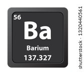 barium chemical element icon.... | Shutterstock .eps vector #1320440561