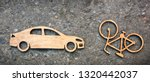 wooden toy little car and... | Shutterstock . vector #1320442037