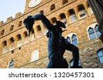 piazza della singoria | Shutterstock . vector #1320457301