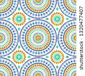 moroccan seamless tile ornament.... | Shutterstock .eps vector #1320477407