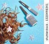 hair care  long beautiful hair... | Shutterstock . vector #1320498341