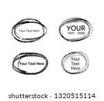 hand drawn circle line sketch.... | Shutterstock .eps vector #1320515114