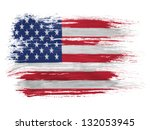 the usa flag | Shutterstock . vector #132053945