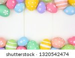 colorful pastel easter egg... | Shutterstock . vector #1320542474