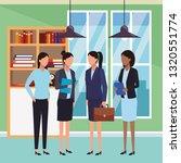 executive business cartoon | Shutterstock .eps vector #1320551774