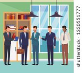 executive business cartoon | Shutterstock .eps vector #1320551777