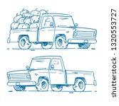 Pickup Truck Transporting...