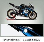 sport bike racing wrap design.... | Shutterstock .eps vector #1320555527